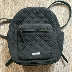 Never used, Black Vera bradly small backpack